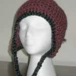 Fig Ear Flap Hat, 3/4 View