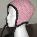 Blossom Ear Flap Hat, Side View