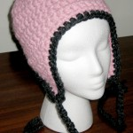 Blossom Ear Flap Hat, 3/4 View